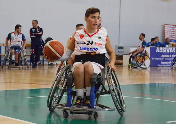 massimiliano segreto handicap sport varese basket in carrozzina