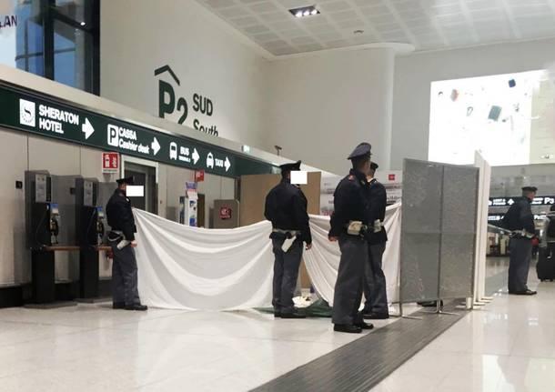 morto a Malpensa Terminal 1