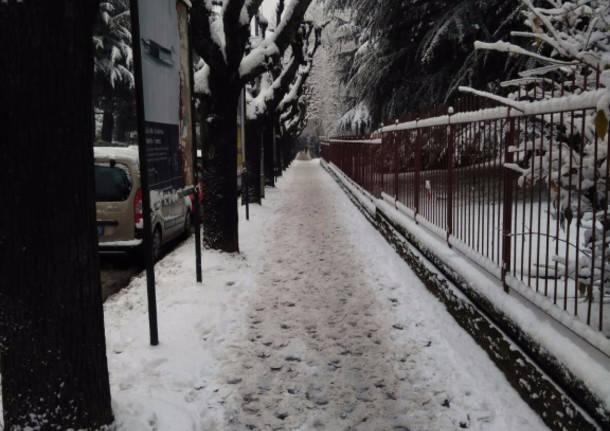 Neve 2017 - I lettori da whatsapp
