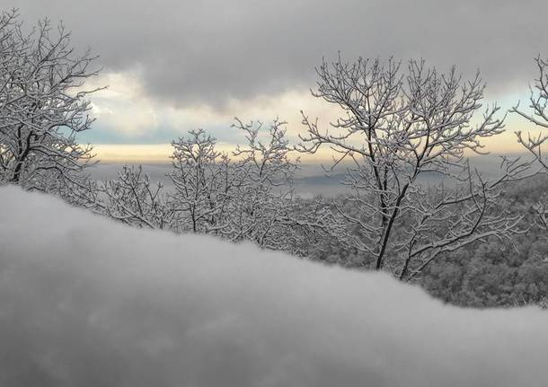 Neve a Cuasso al Monte - foto di Dina Rebeschi