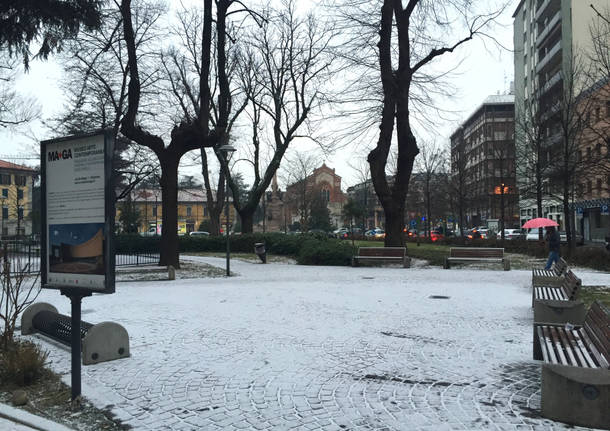 neve Gallarate 10 gennaio 2017