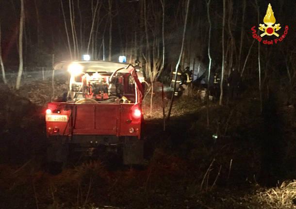 Ore impegnative per i vigili del fuoco