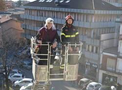 ospedale del ponte befana vigili del fuoco