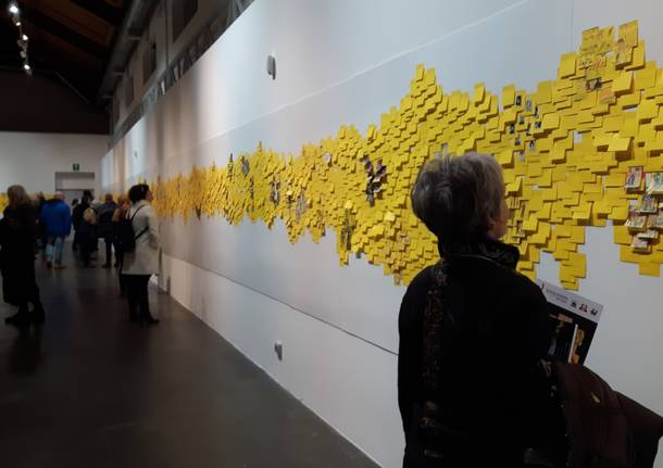 Post-it al Museo Maga