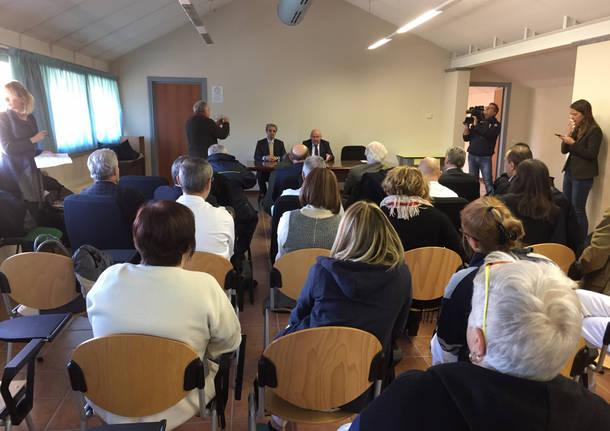 riunione tra sindaci e bravi alla presenza di cattaneo