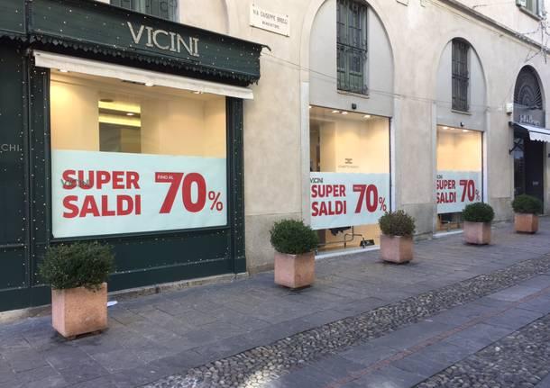Saldi a Varese