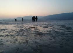 Sul lago ghiacciato