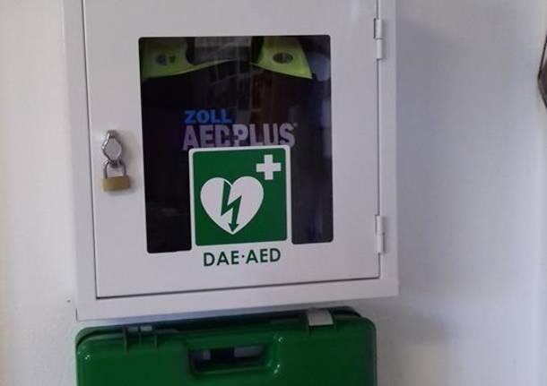 Un defibrillatore per Galliate Lombardo