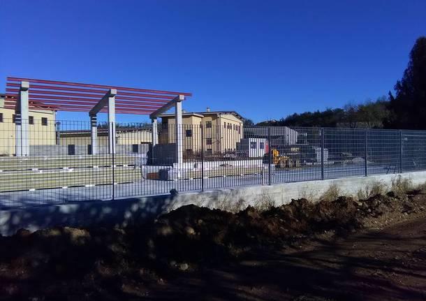 vedano olona - centro raccolta rifiuti località boschina