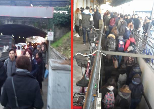 pendolari lavori stazione