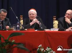 Bisuschio - Visit pastorale cardinale Scola