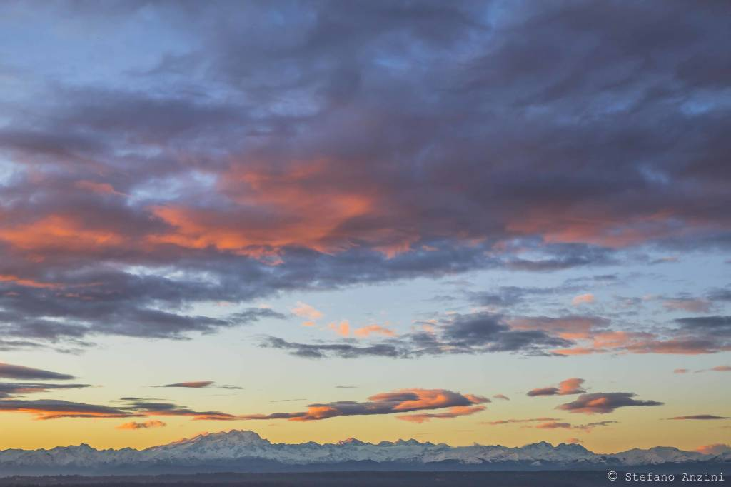 Semplicità di un tramonto