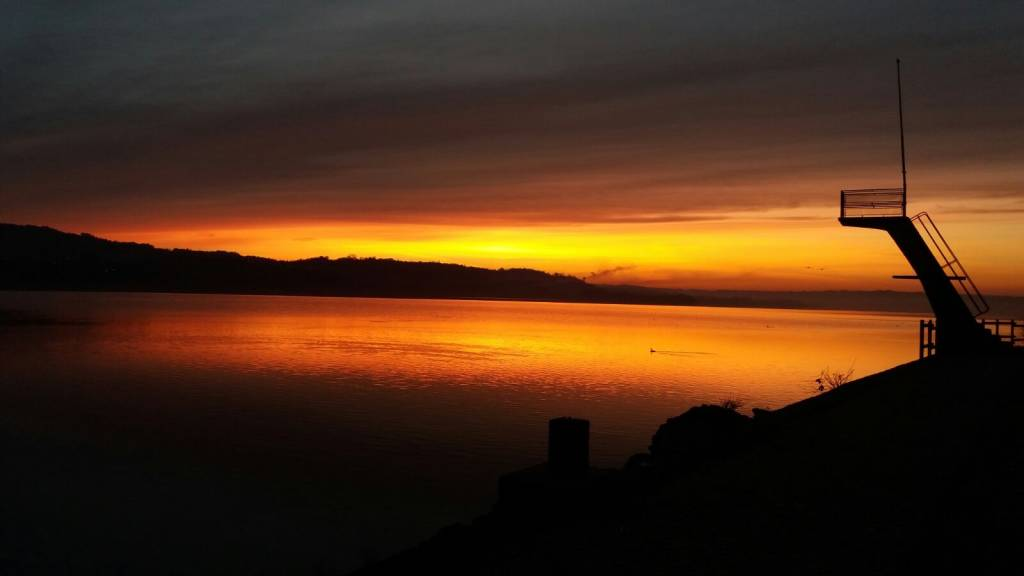 Un alba stupenda su Biandronno