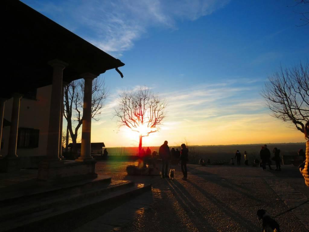 Il tramonto di Tornavento