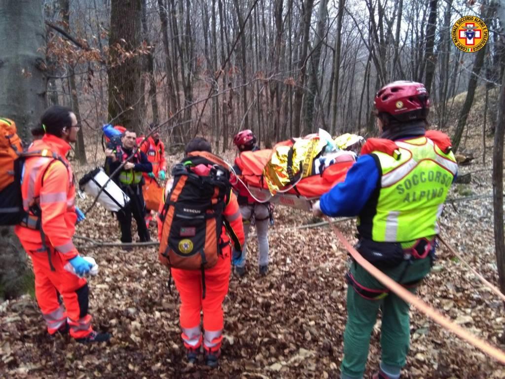 Anziano cade in montagna, lo salva il Soccorso alpino