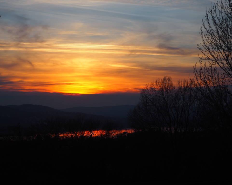 Albe e tramonti da viale europa