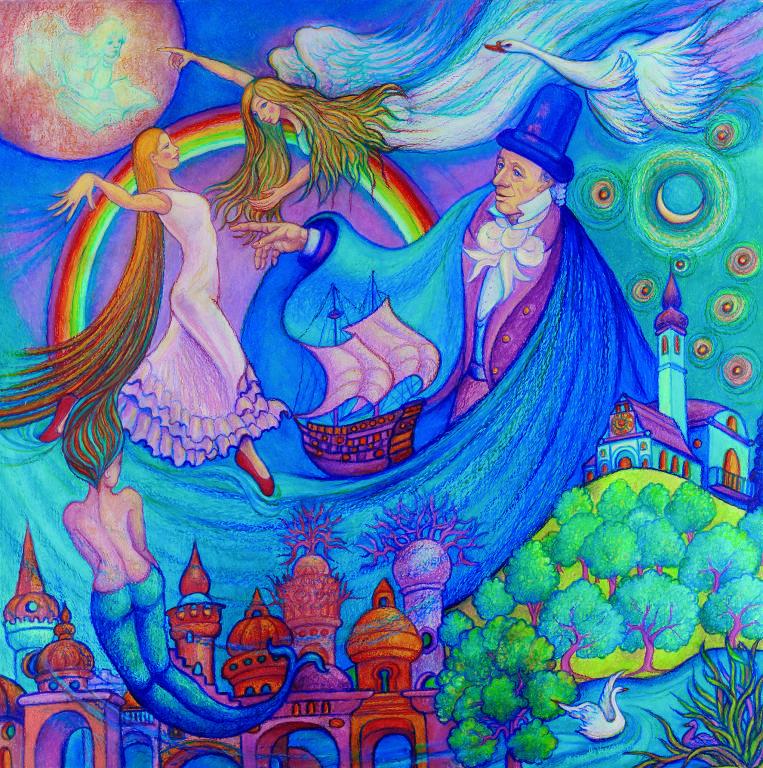Le illustrazioni da sogno di Manuela Vasconi