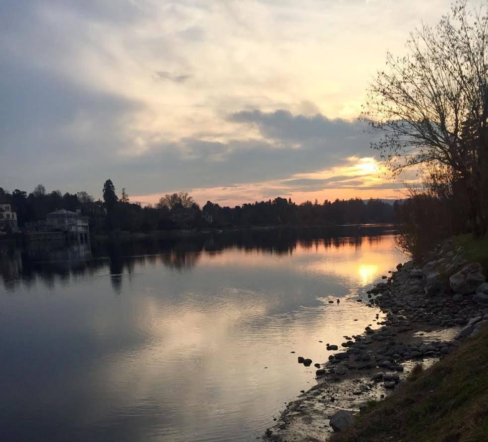 Il tramonto da Sesto
