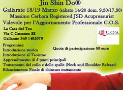 Corso Introduttivo Jin Shin Do®