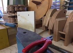 A lezione di falegnameria