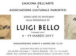 Mostra personale di LUIGI BELLO