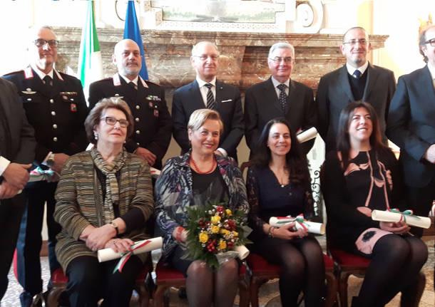 Varese celebra i suoi nuovi Cavalieri della Repubblica
