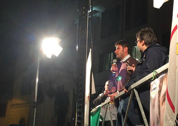 DI Battista riempie piazza Podestà