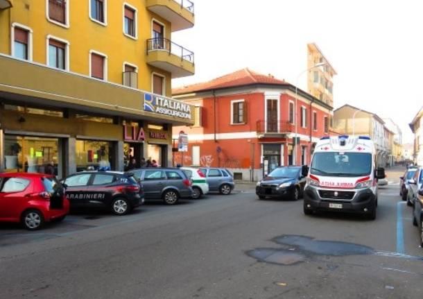 donna morta in casa Legnano