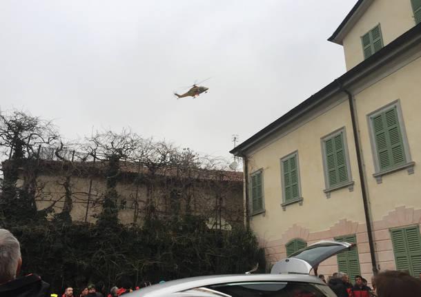 I funerali di Giovanni Ambrosetti