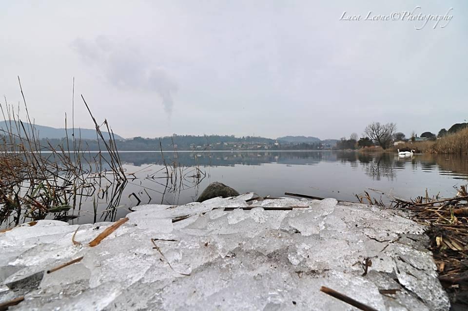 Il lago di Varano Borghi (foto di Luca Leone)
