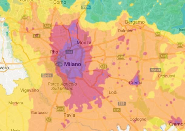 Cartina Inquinamento Lombardia.Inquinamento A Gennaio L Aria Peggiore Degli Ultimi 15 Anni