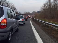 Lavori autostrada A8 uscita Varese
