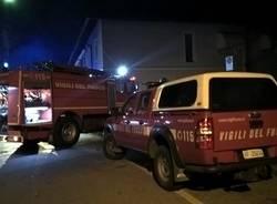 Legnano - Incendio 16 febbraio 2017