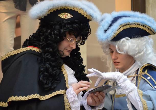 Le maschere del Carnevale veneziano