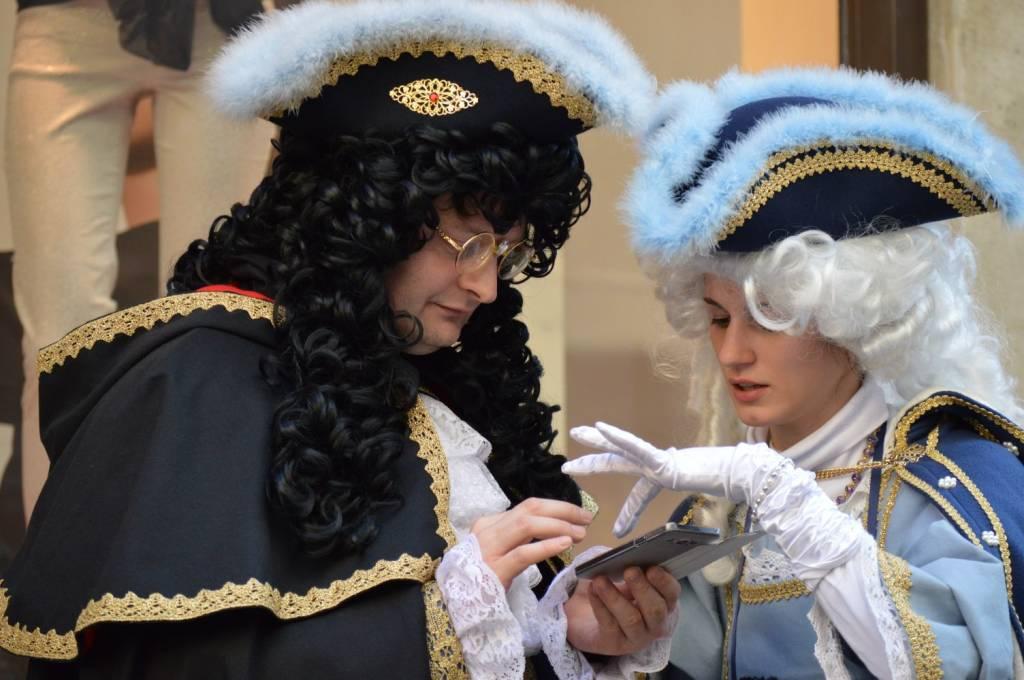 maschere carnevale venezia 2017