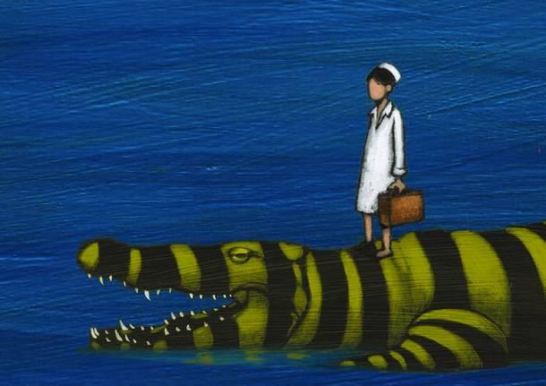 Nel mare non ci sono i coccodrilli spettacolo teatrale