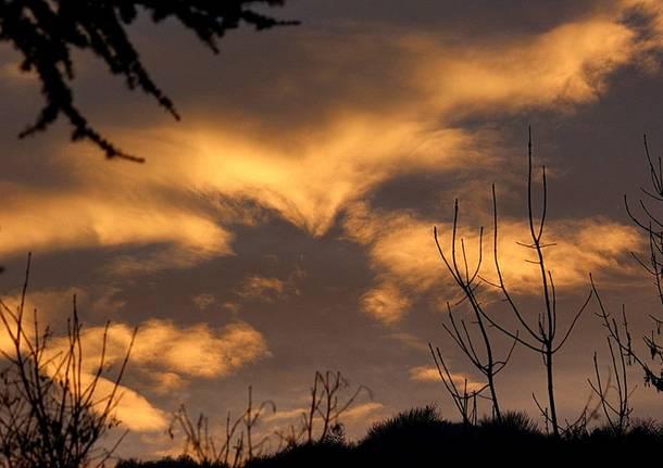 Nuvole rosa a Cuasso al Monte - foto di Eugenio Pigato