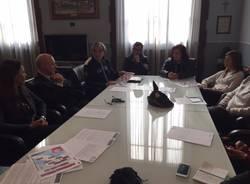 presentazione giro d'italia handbike tappa busto arsizio 2017