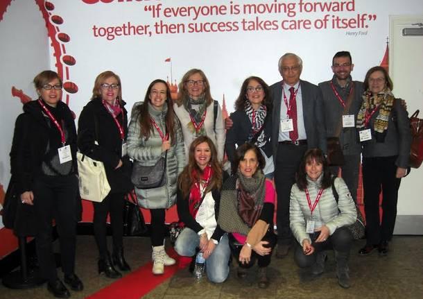 presidi in visita al Bett con la Fondazione Merlini
