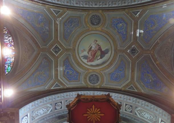 Restauro della basilica Gallarate primo lotto