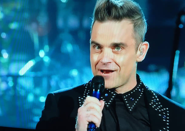 Robbie Williams a Sanremo 2017