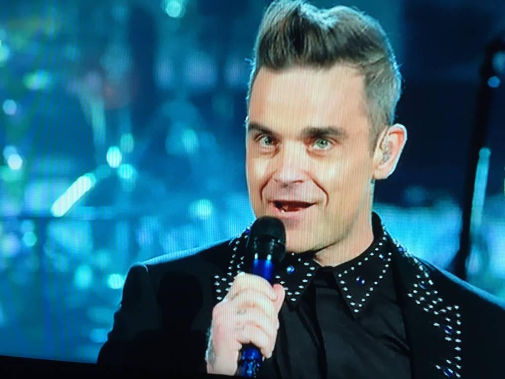 Robbie Williams a Sanremo 2017