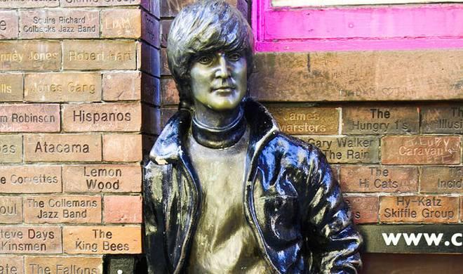 John Lennon a Liverpool