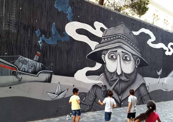 street art bambini