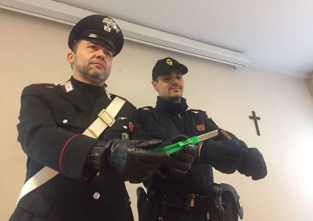 Carabinieri e polizia sventano una rapina a Induno Olona