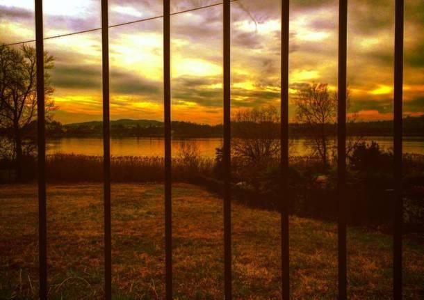 Che tramonto bellezza!