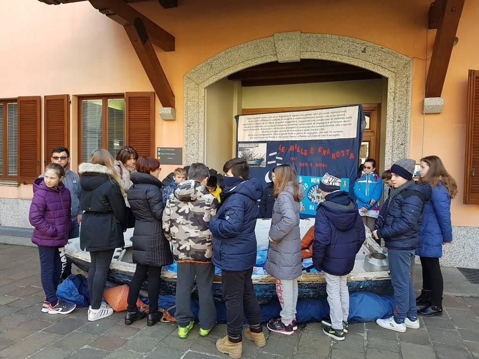 Un successo la mostra sui migranti al Padre Monti