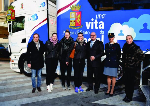 """In Piazza a Busto Arsizio il Truck di """"Una Vita da Social"""""""