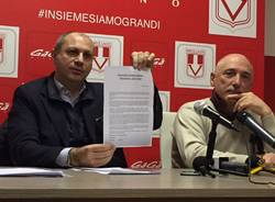 Varese Calcio, Ciavarrella e Rosa rispondono a Basile e Taddeo