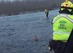Vigili del Fuoco: recupero di una persona in acqua
